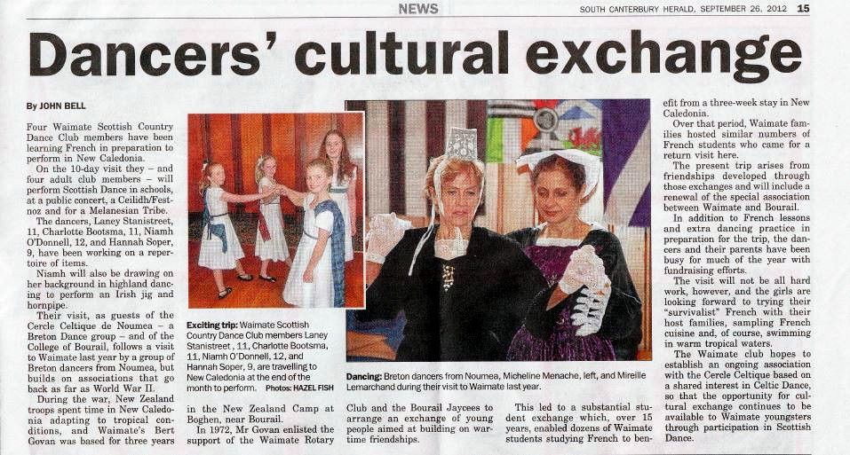 Article South Canterbury Herald